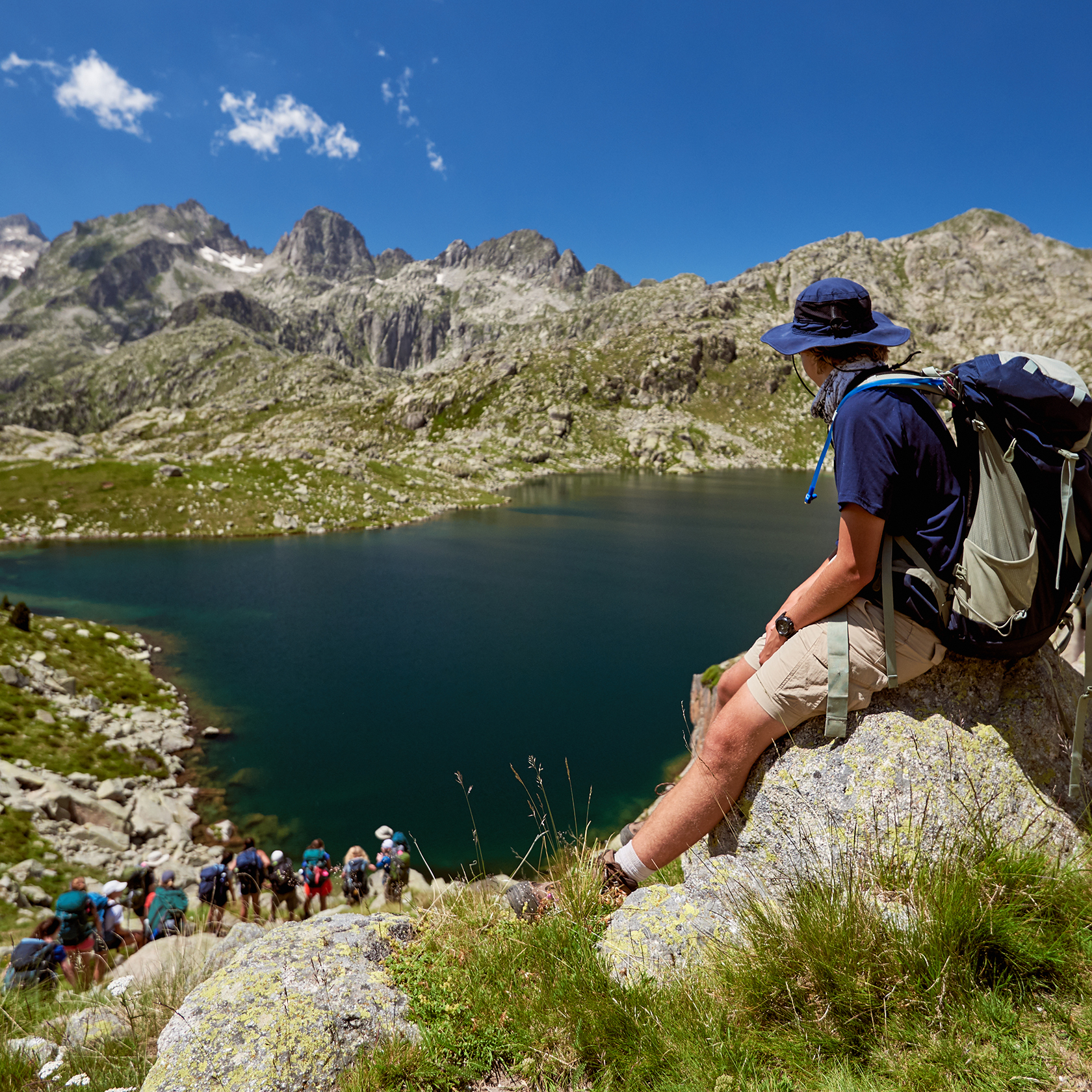 Backpacking on the Alps & Pyrenees trip