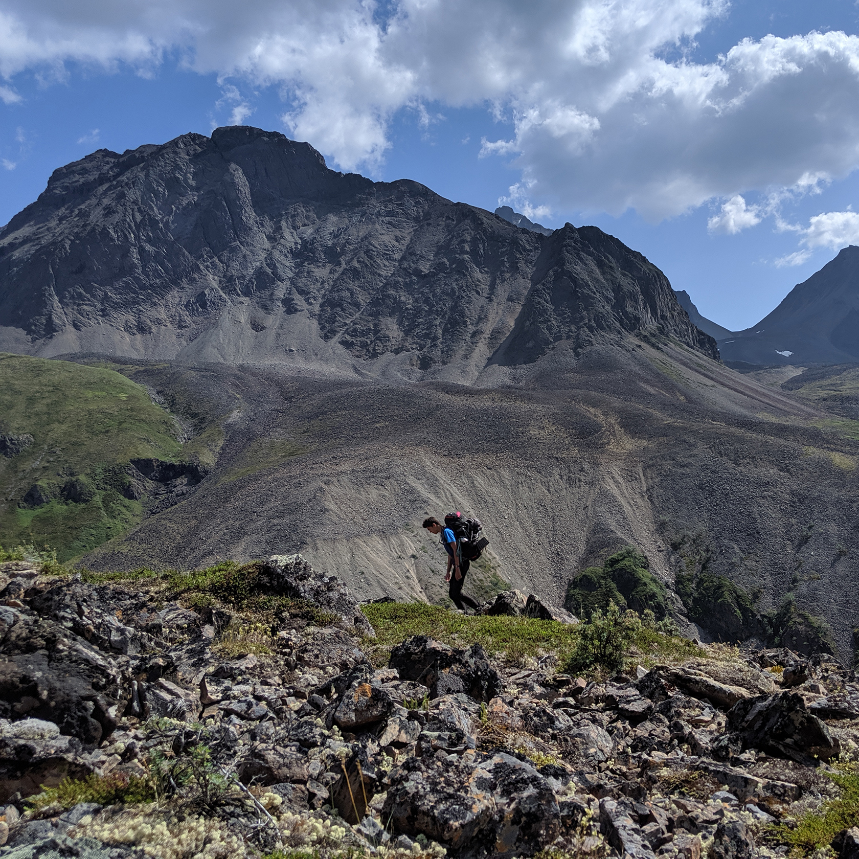 Backpacking on the Alaska Southcentral trip