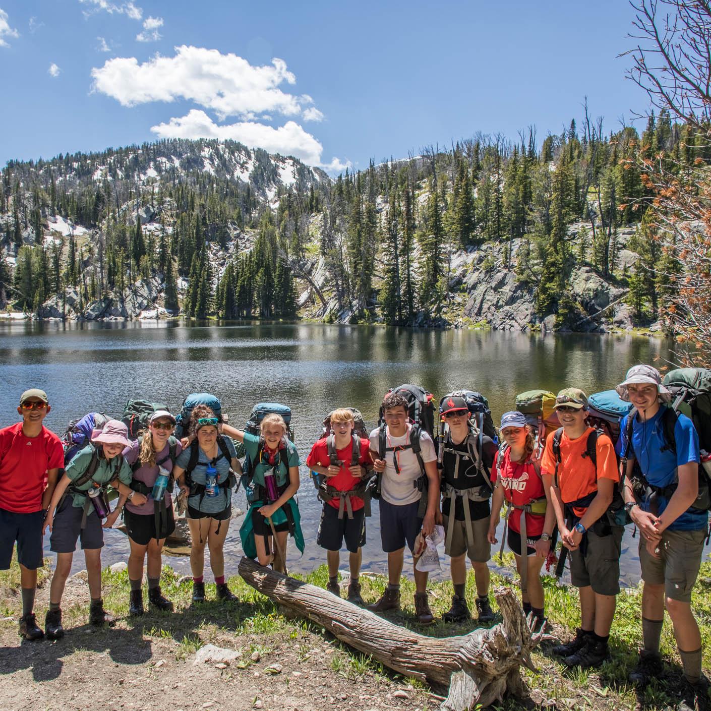 Yellowstone Explorer backpacking