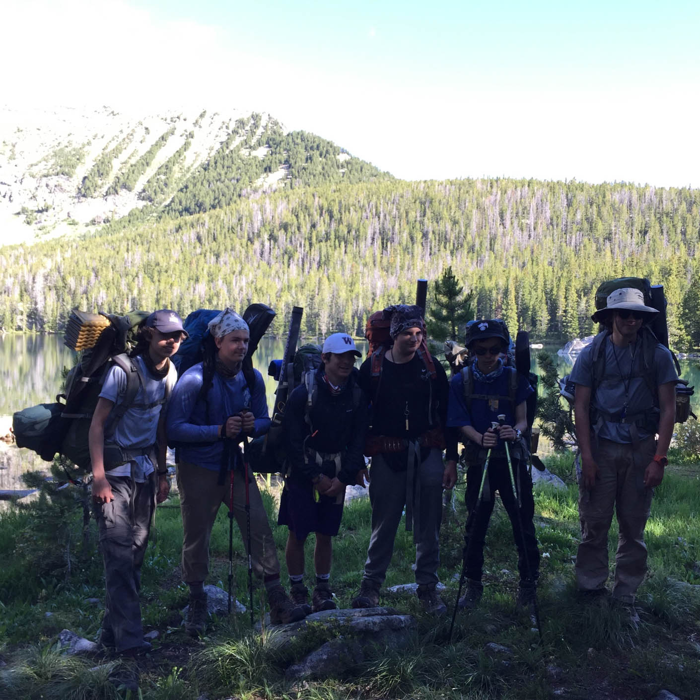 Montana Fly Fishing backpacking
