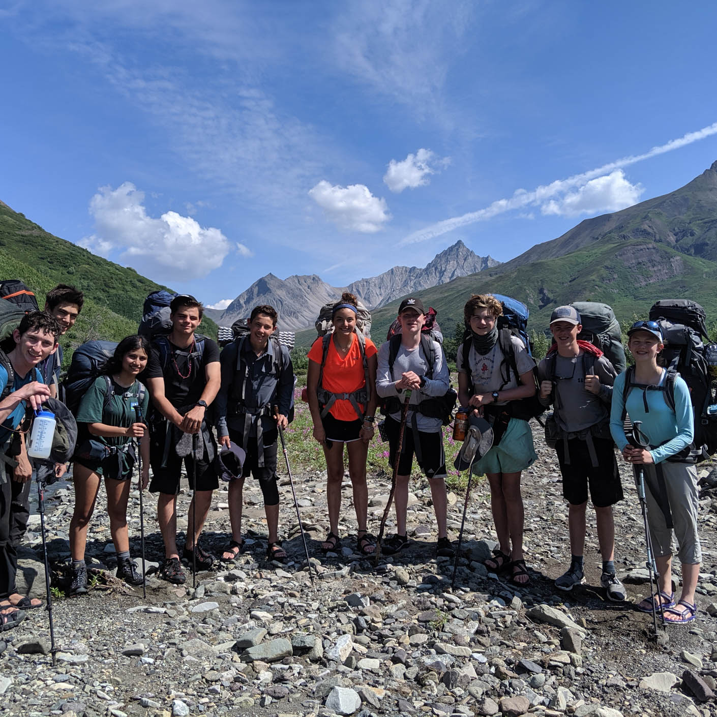 Alaska Southcentral backpacking