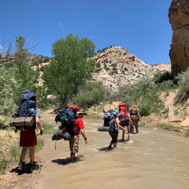 Utah Red Rocks backpacking