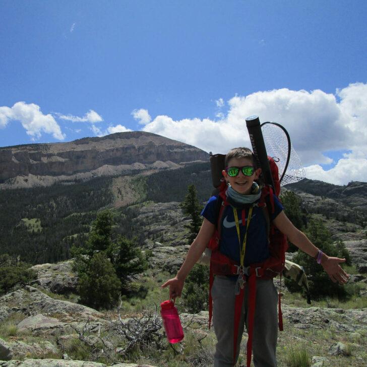 Jackson Hole Fly Fishing backpacking