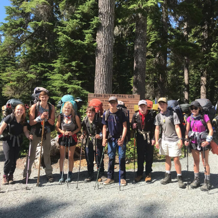 The Great Northwest backpacking