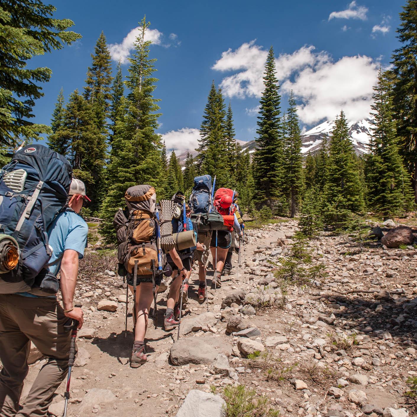 High Sierra backpacking