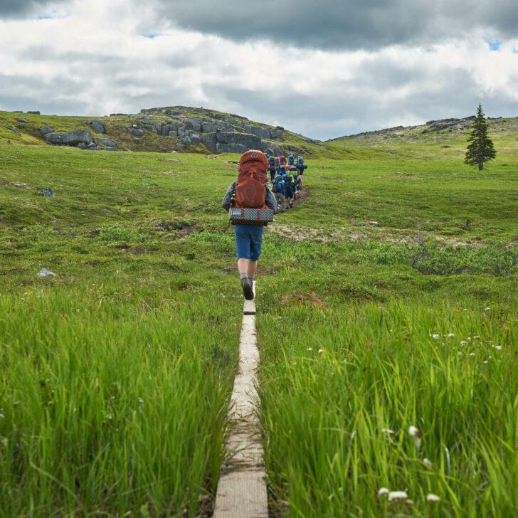 Alaska High Trails backpacking