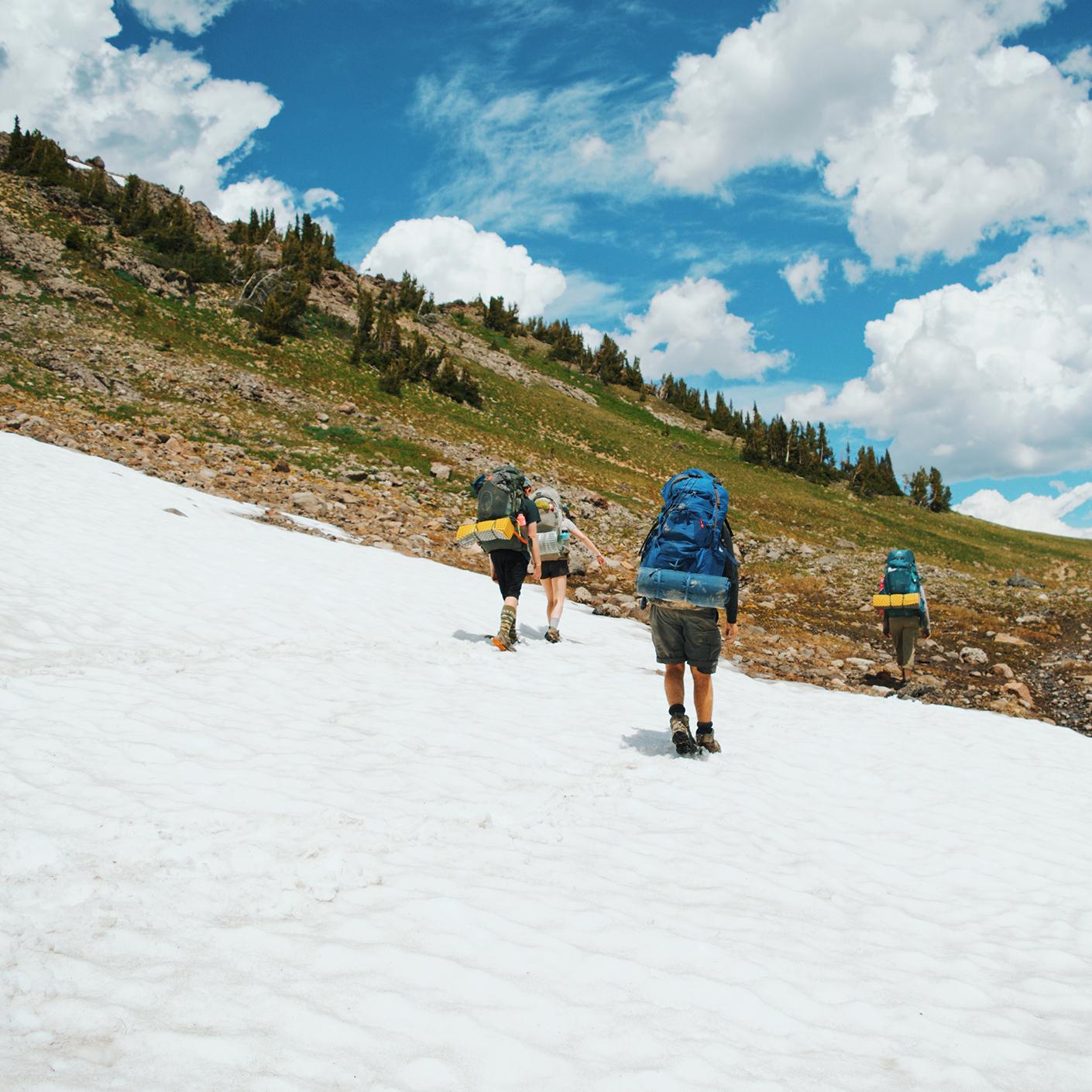 Yellowstone Wilderness backpacking