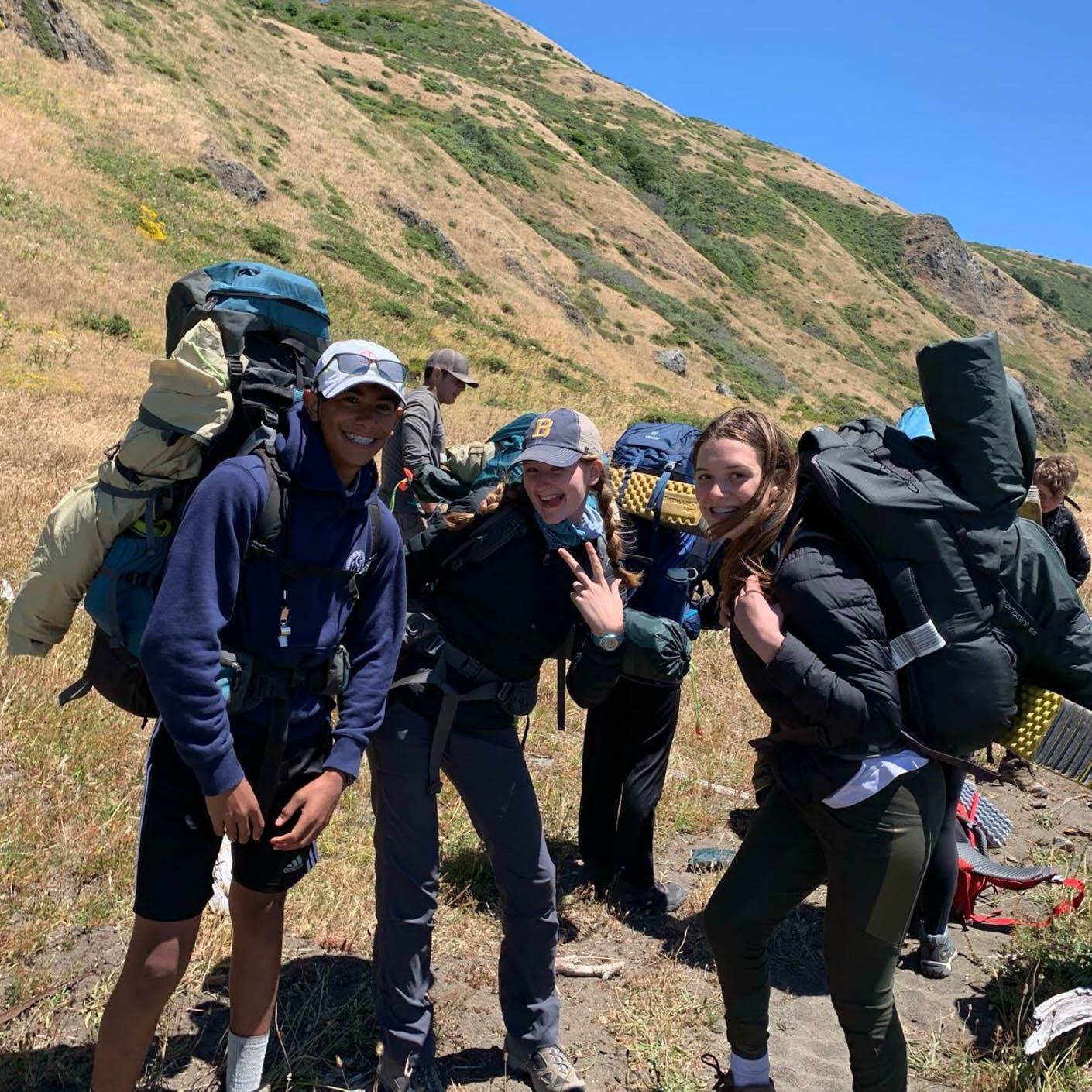 California Explorer backpacking