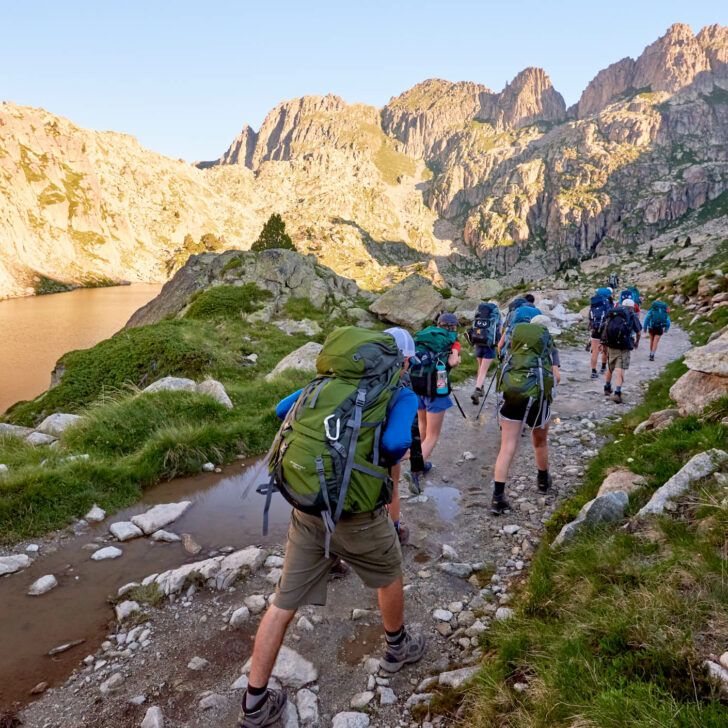 Alps & Pyrenees backpacking