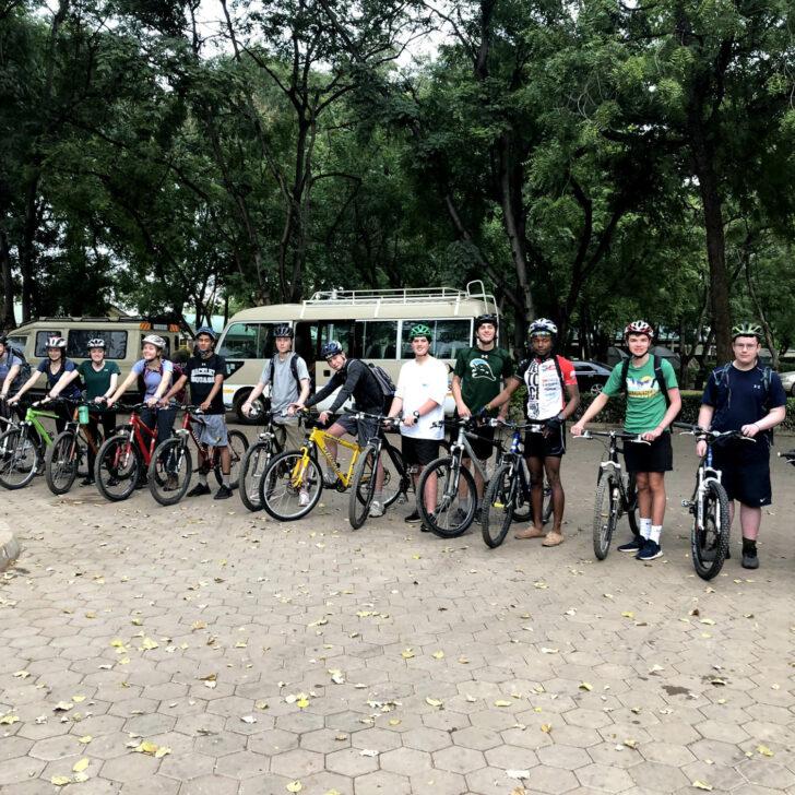 Kilimanjaro biking