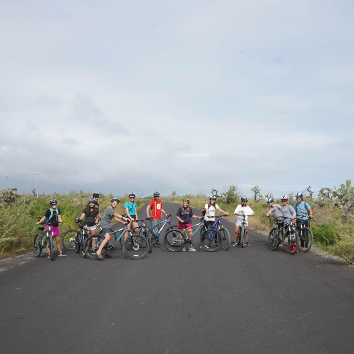 Ecuador Galapagos biking