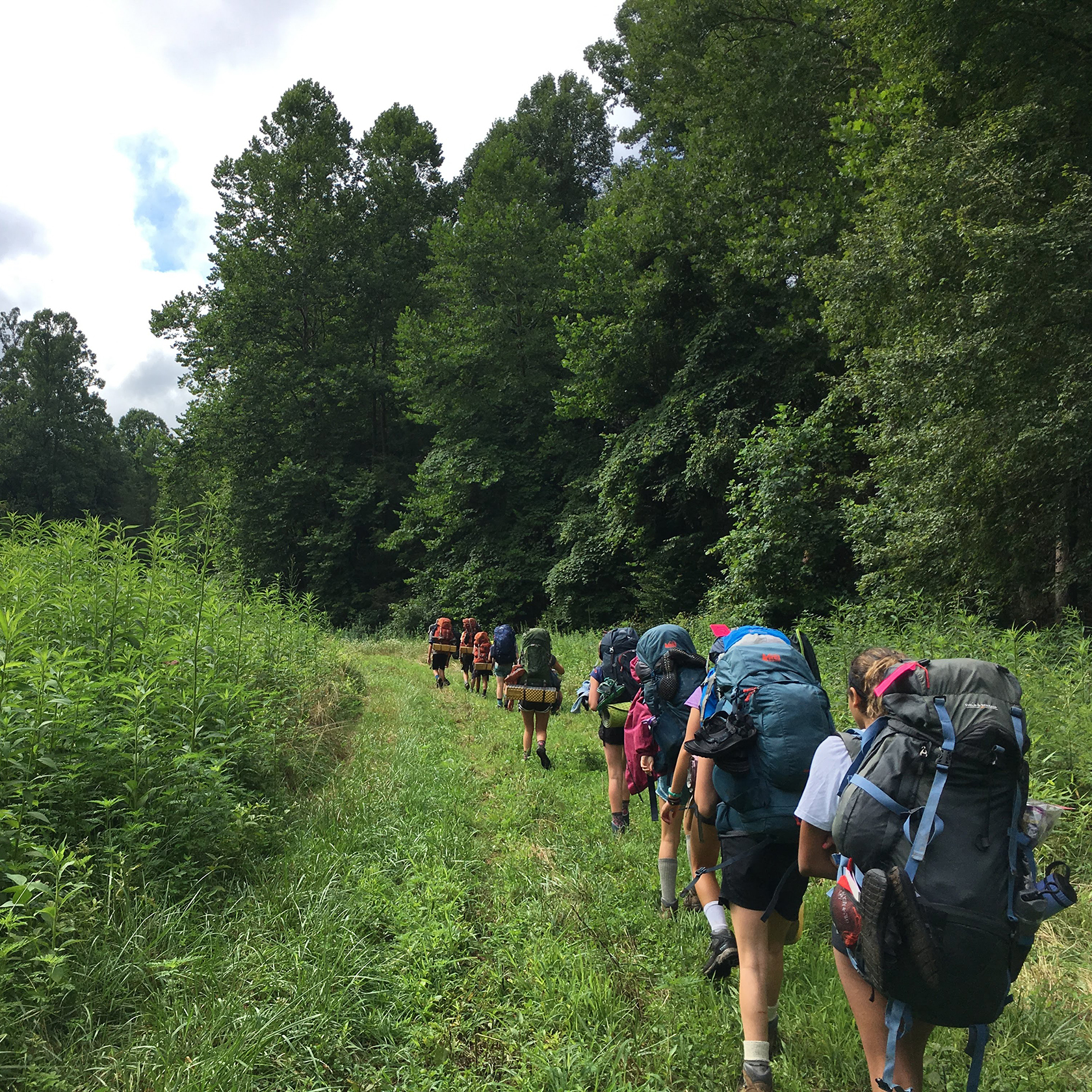 Backpacking on the Carolina Blue: Crags to Coast trip
