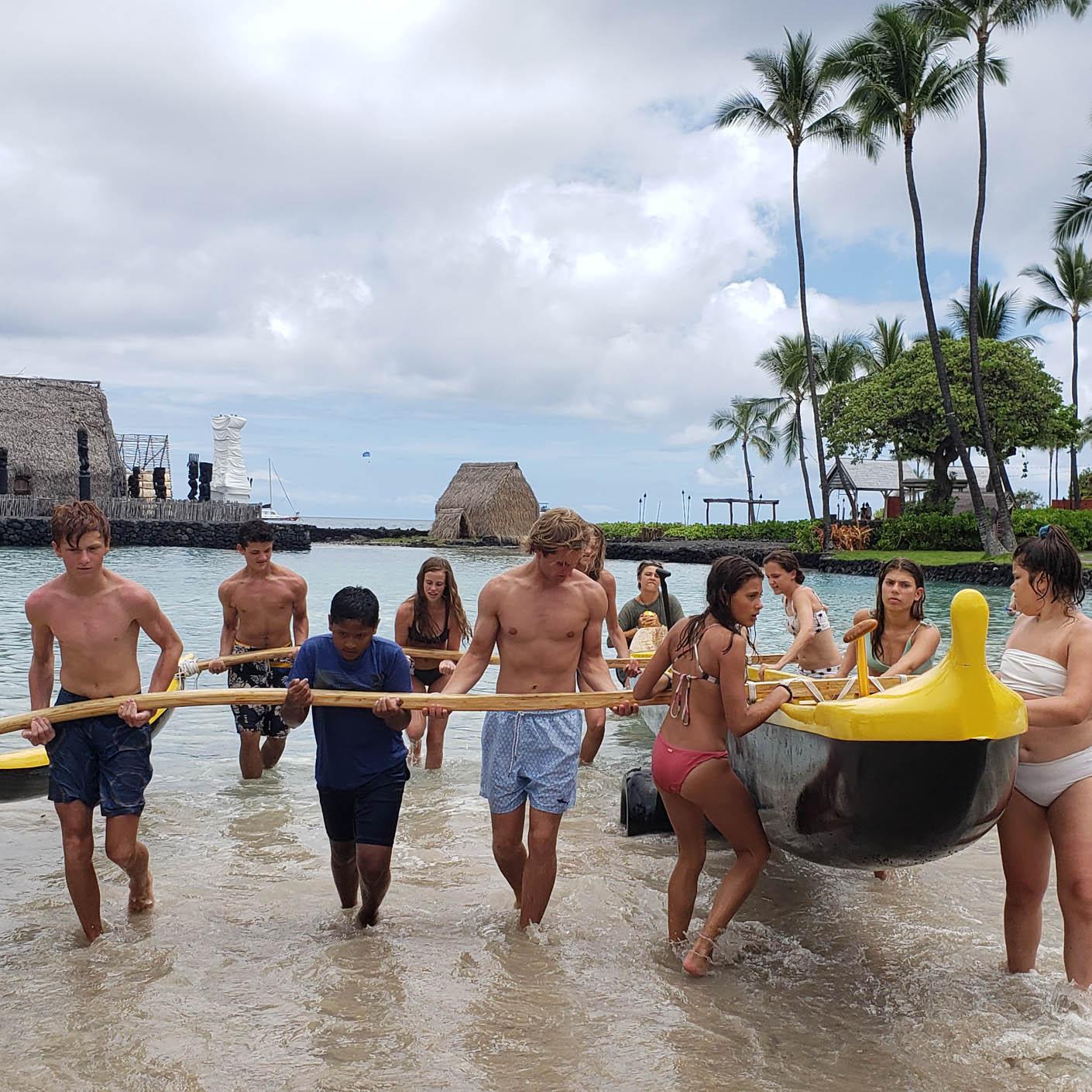 Hawaii Explorer canoeing