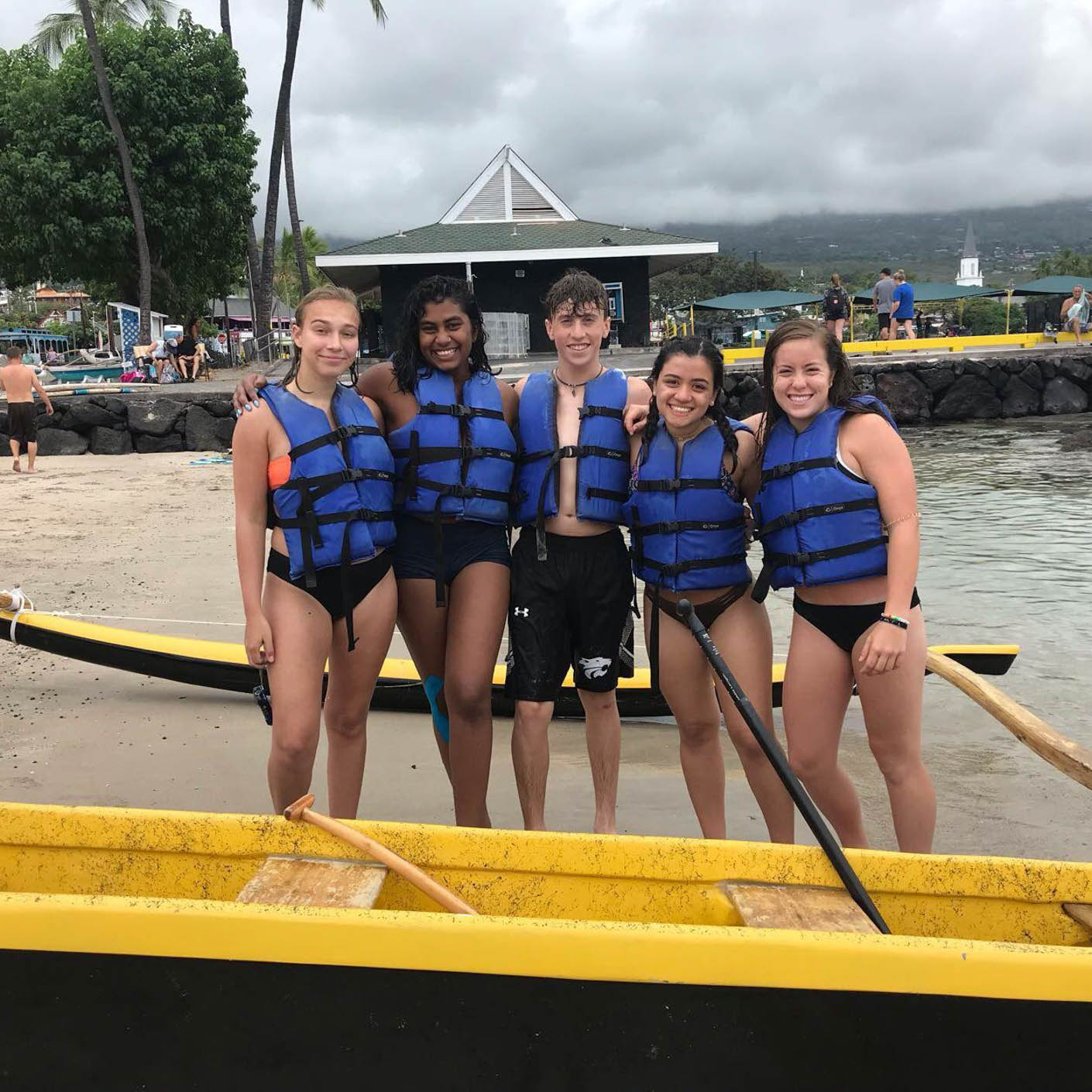 Hawaii Service canoeing
