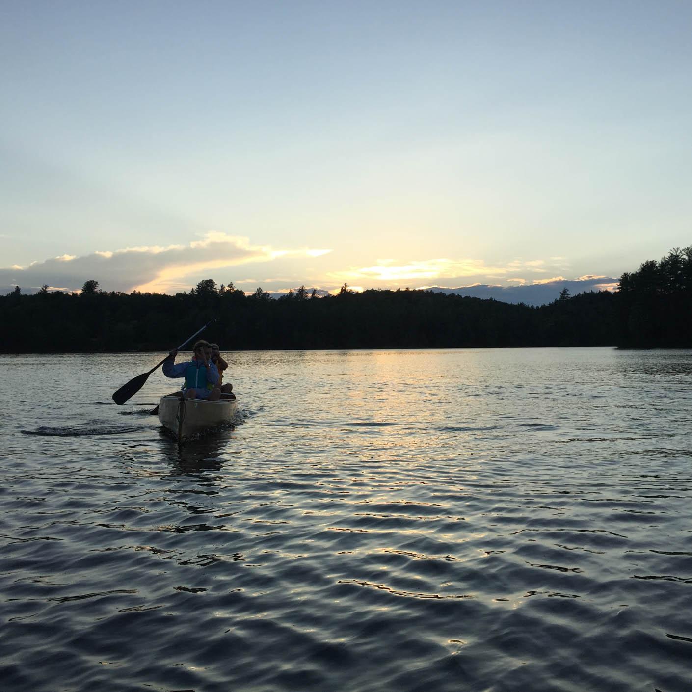 Adirondack Discovery canoeing