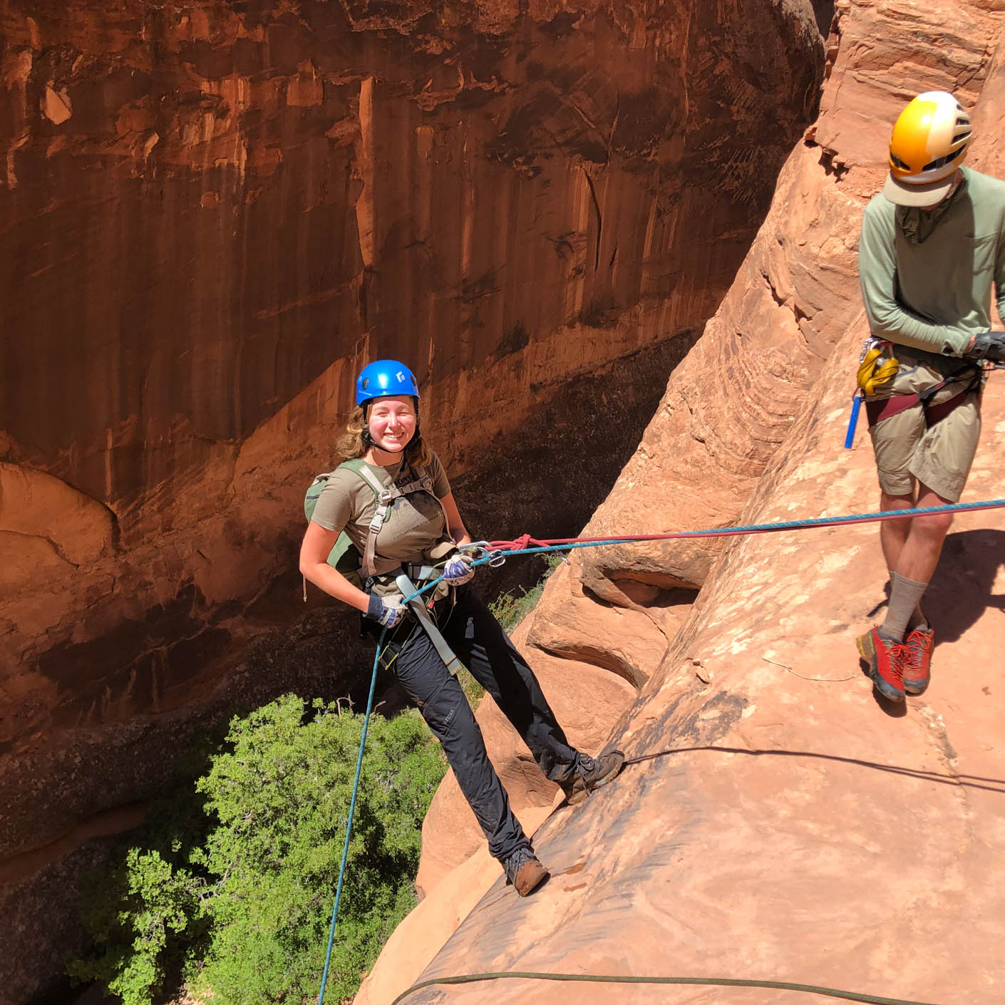 Utah Red Rocks canyoneering