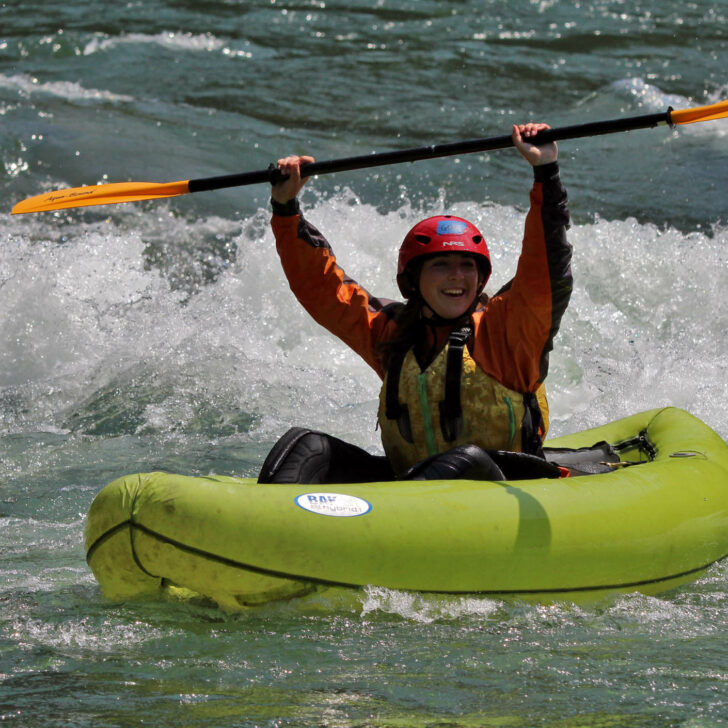 Teton Crest inflatable kayaking