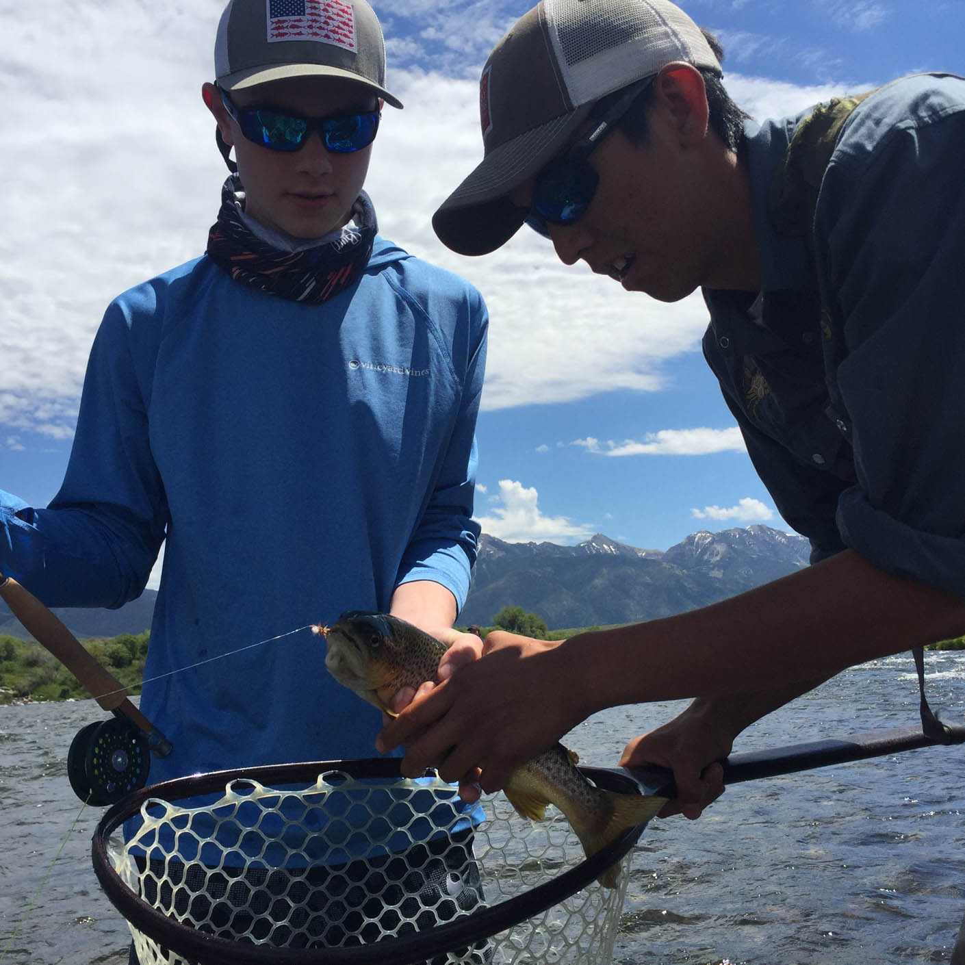 Montana Fly Fishing fishing instructor