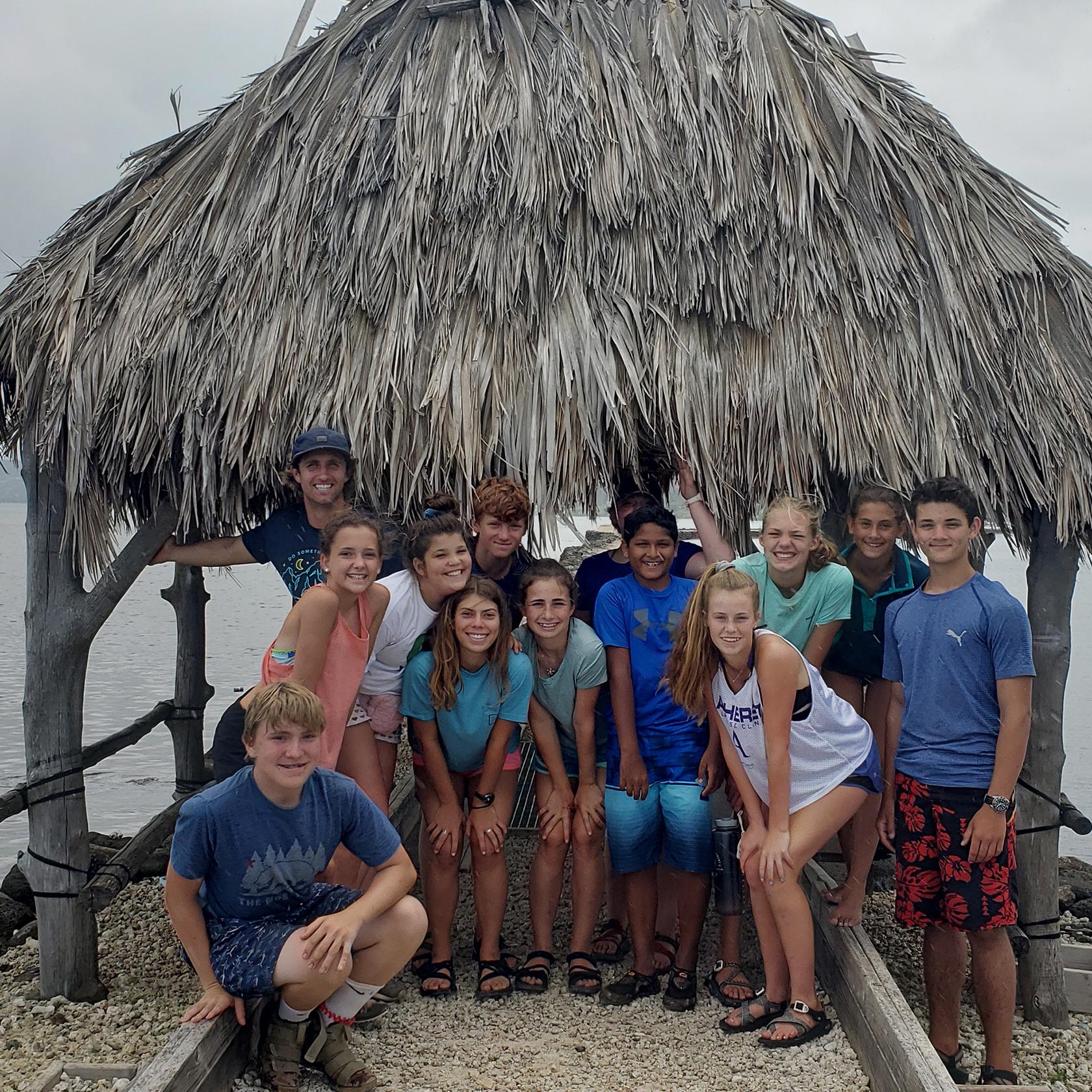 Group photo on the Hawaii Explorer trip