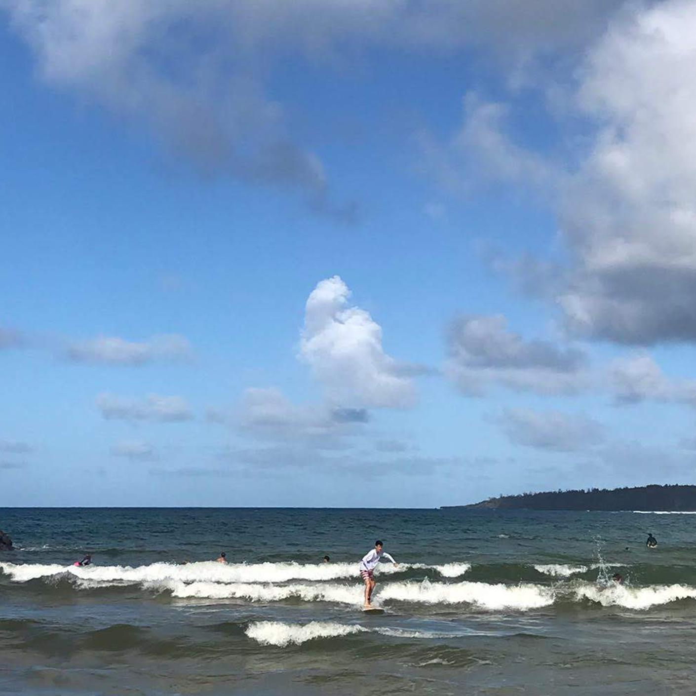 Surfing on the Hawaiian Islands trip