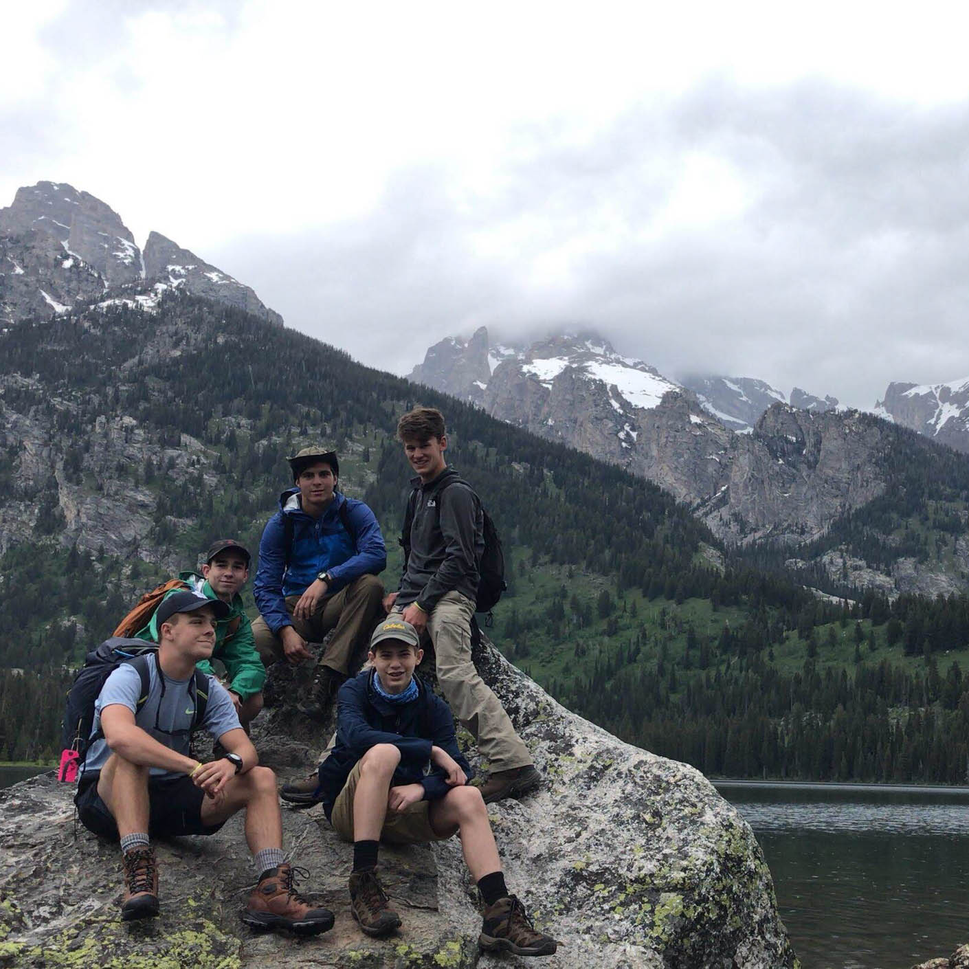 Grand Teton hiking
