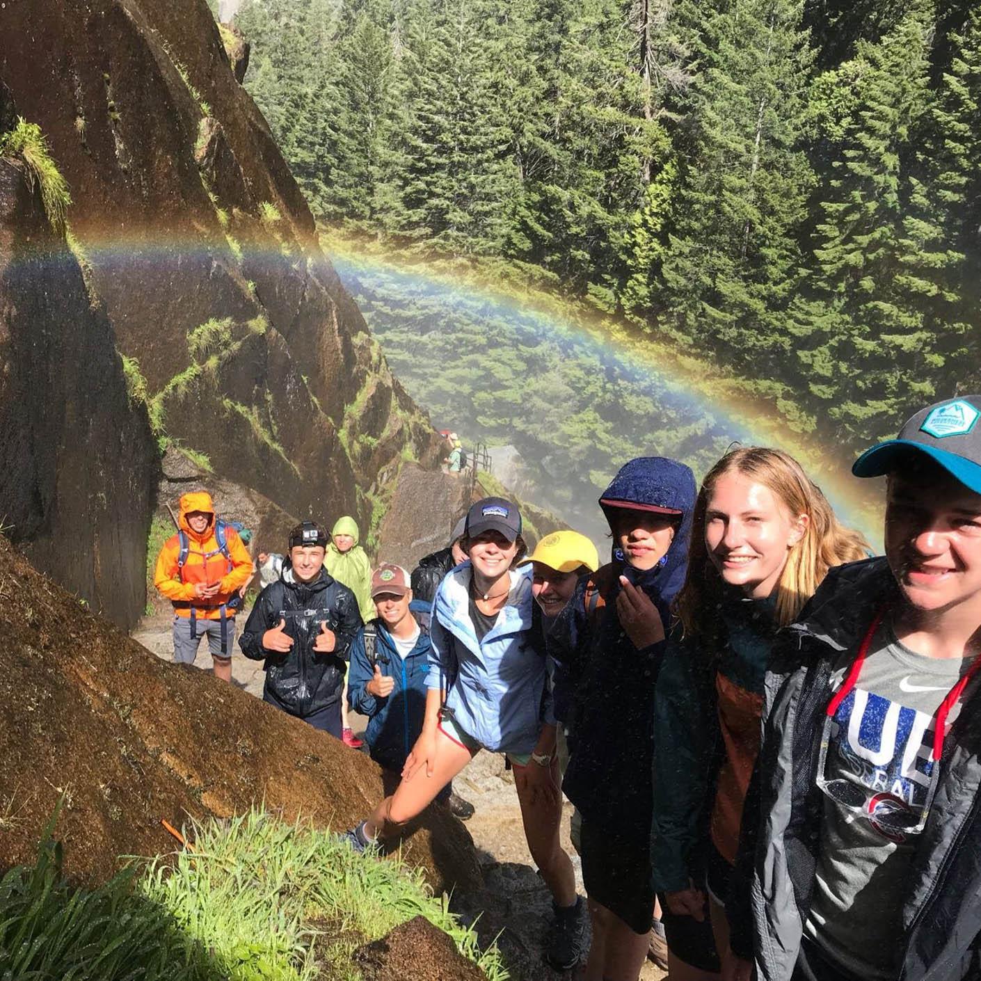 High Sierra hiking
