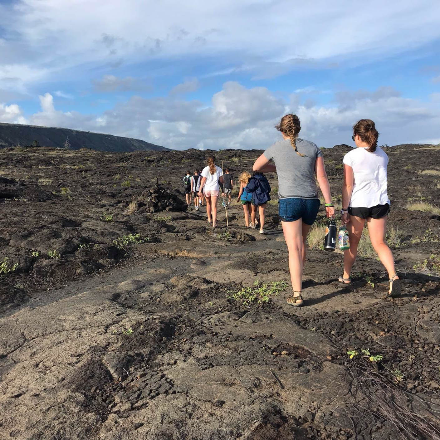 Hawaii Service hiking