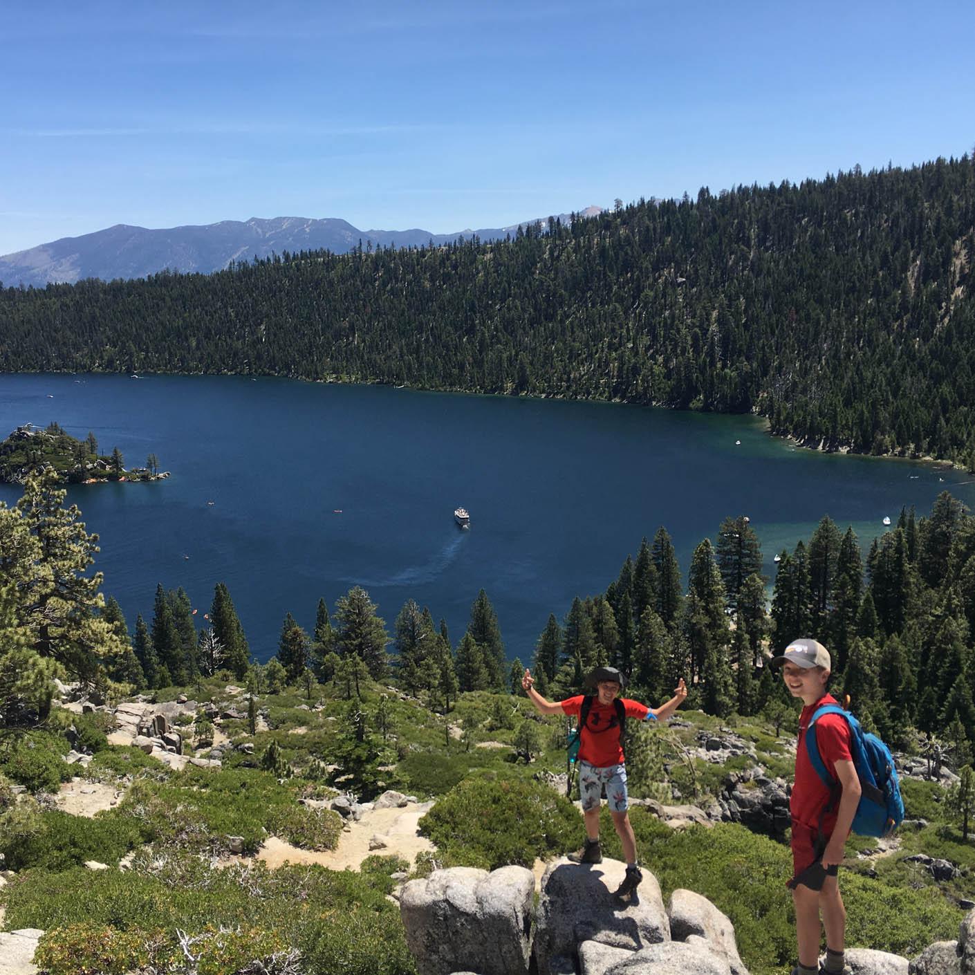 California Discovery hiking