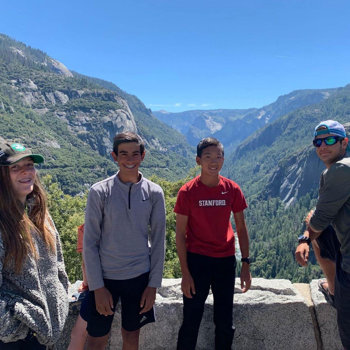 California Explorer hiking