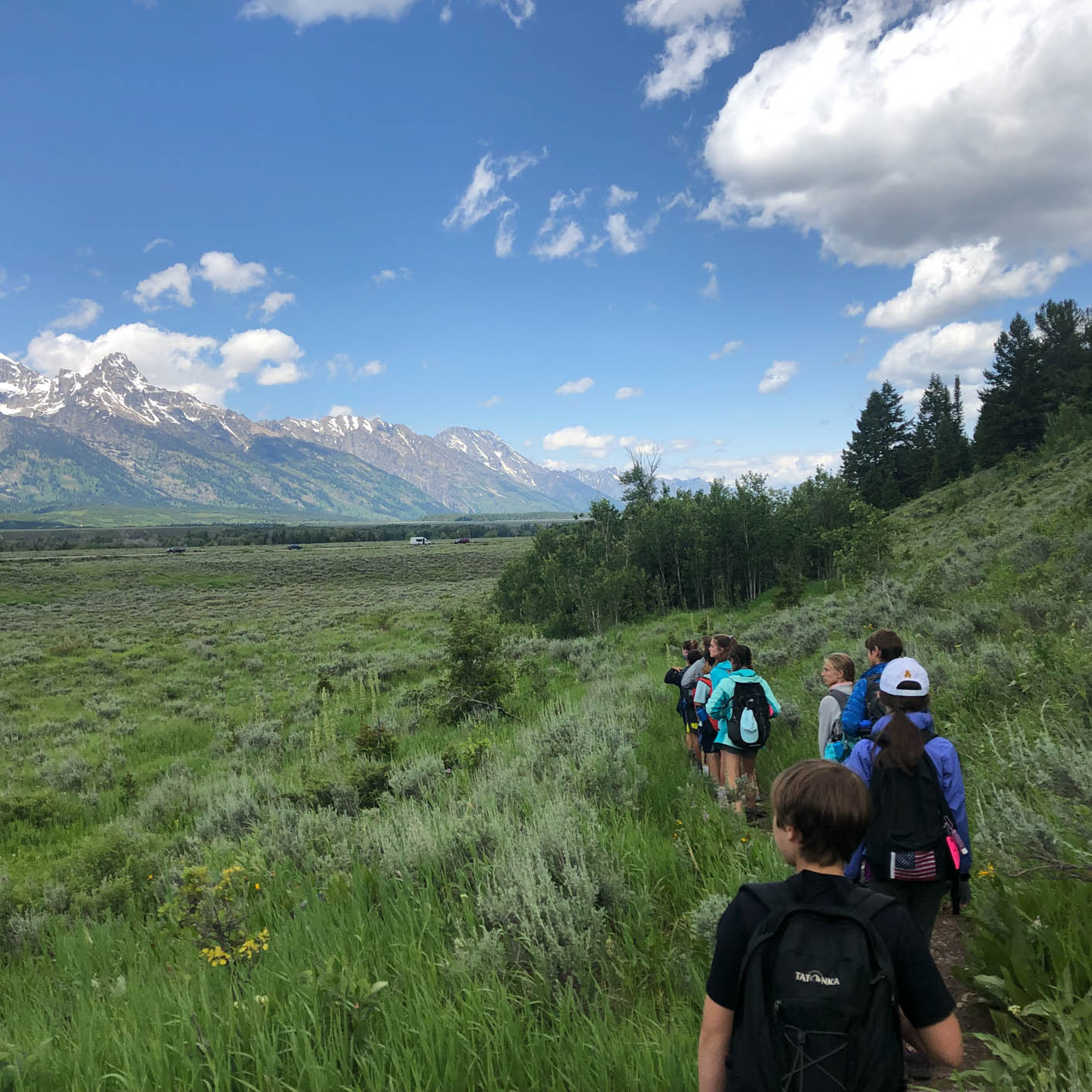 Yellowstone Teton Discovery hiking