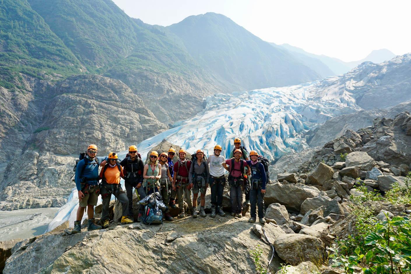 Alaska Southeast ice climbing