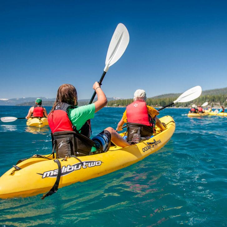 California Discovery kayaking