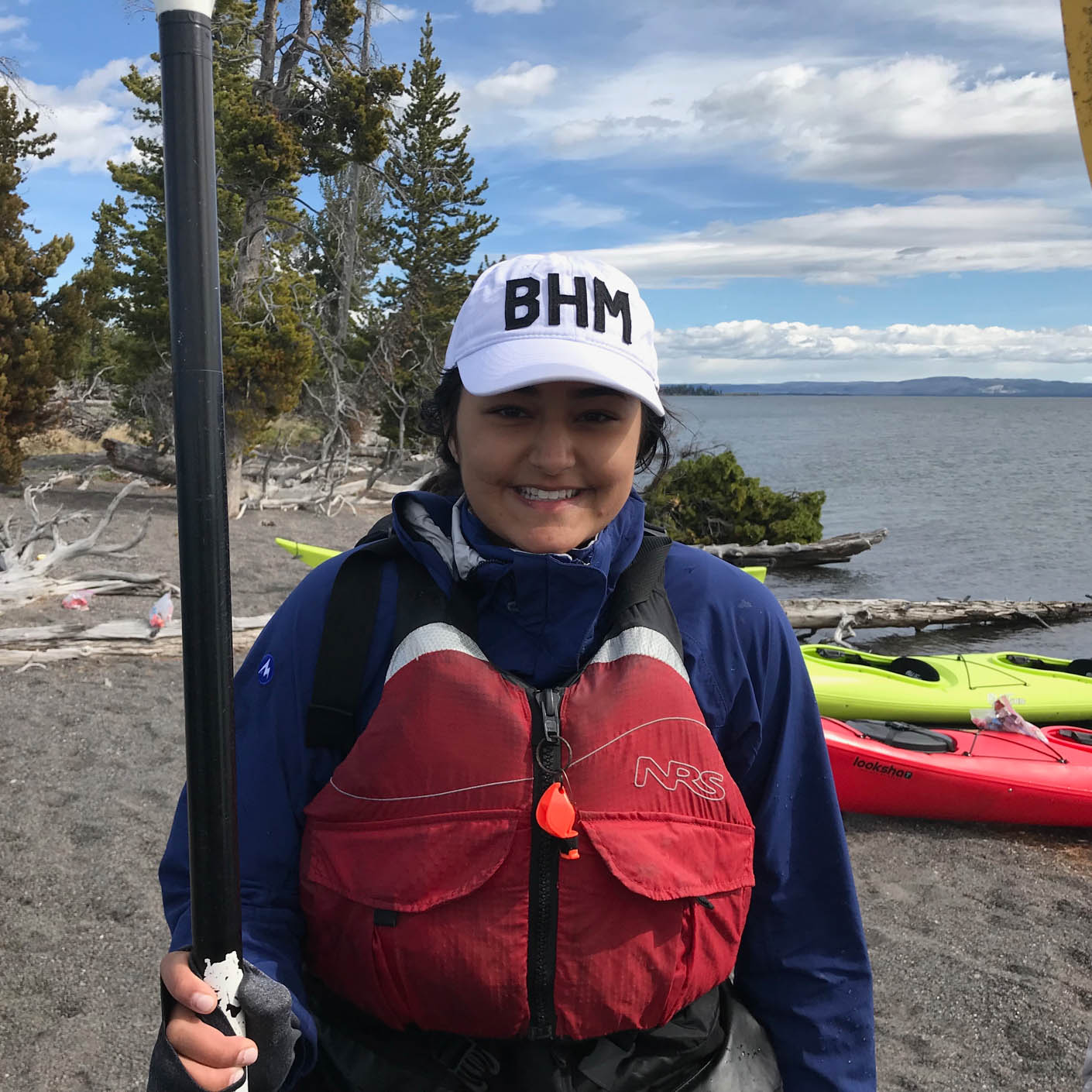 Yellowstone Explorer kayaking