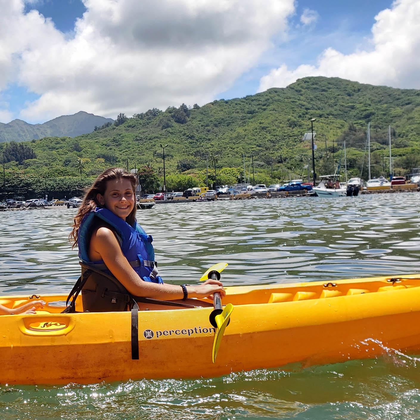 Hawaii Explorer kayaking