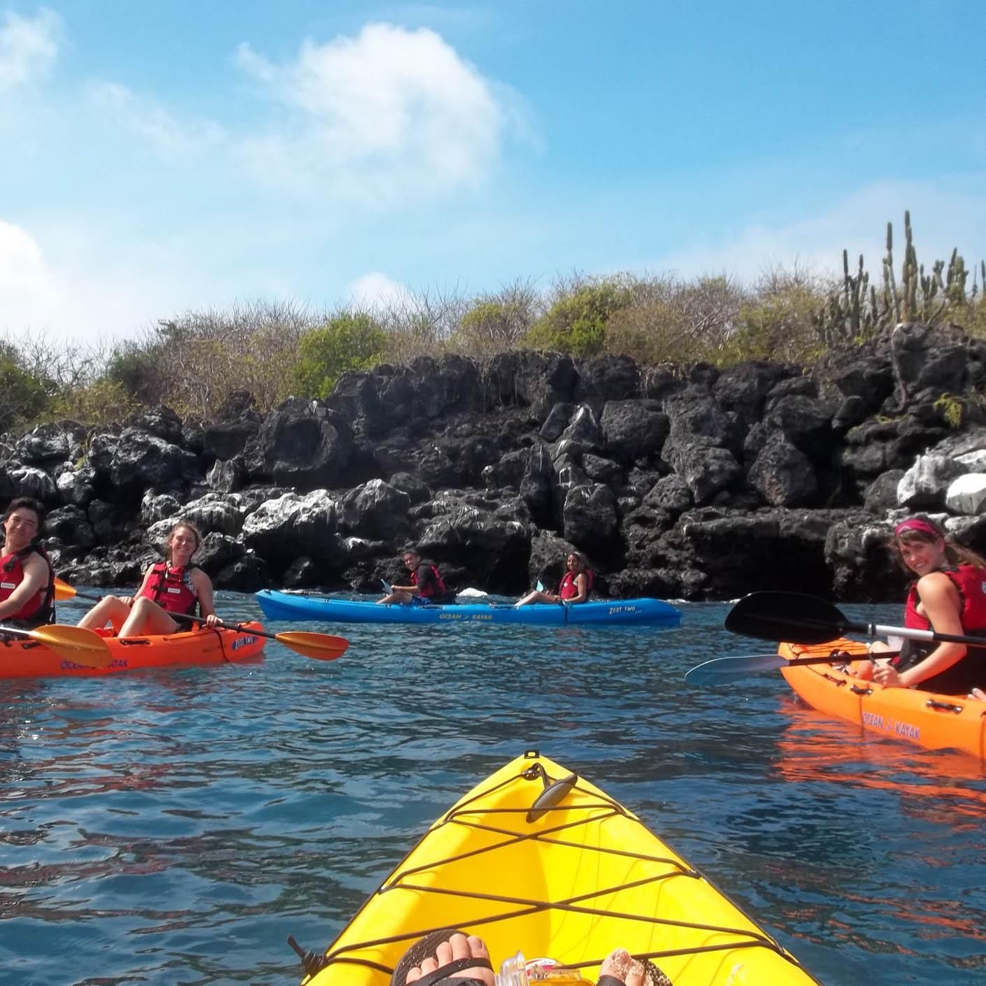 Ecuador Galapagos kayaking