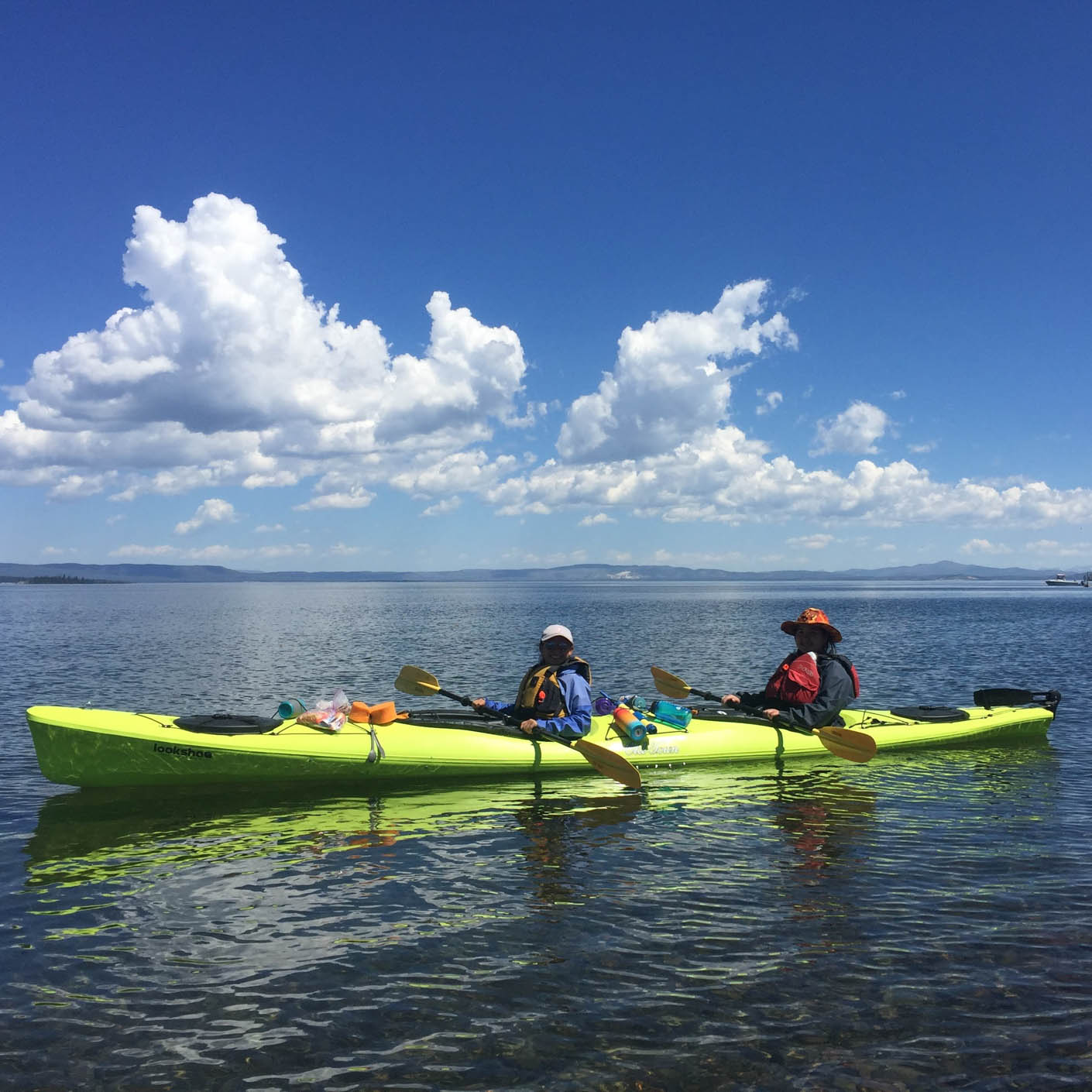 Yellowstone Explorer kayaking