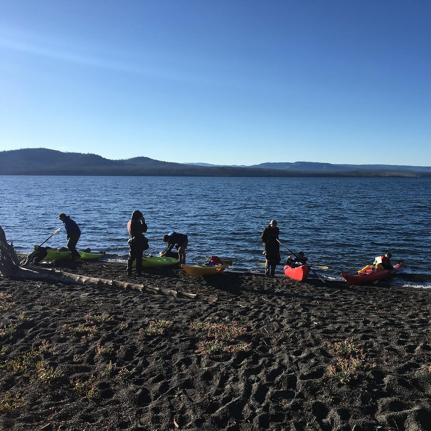 Yellowstone Wilderness kayaking