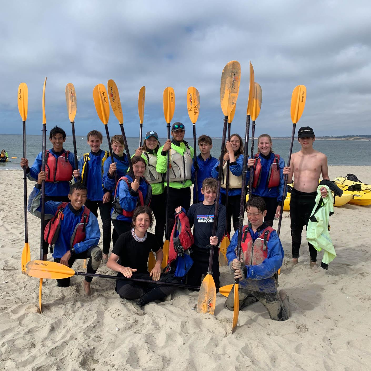 California Explorer kayaking