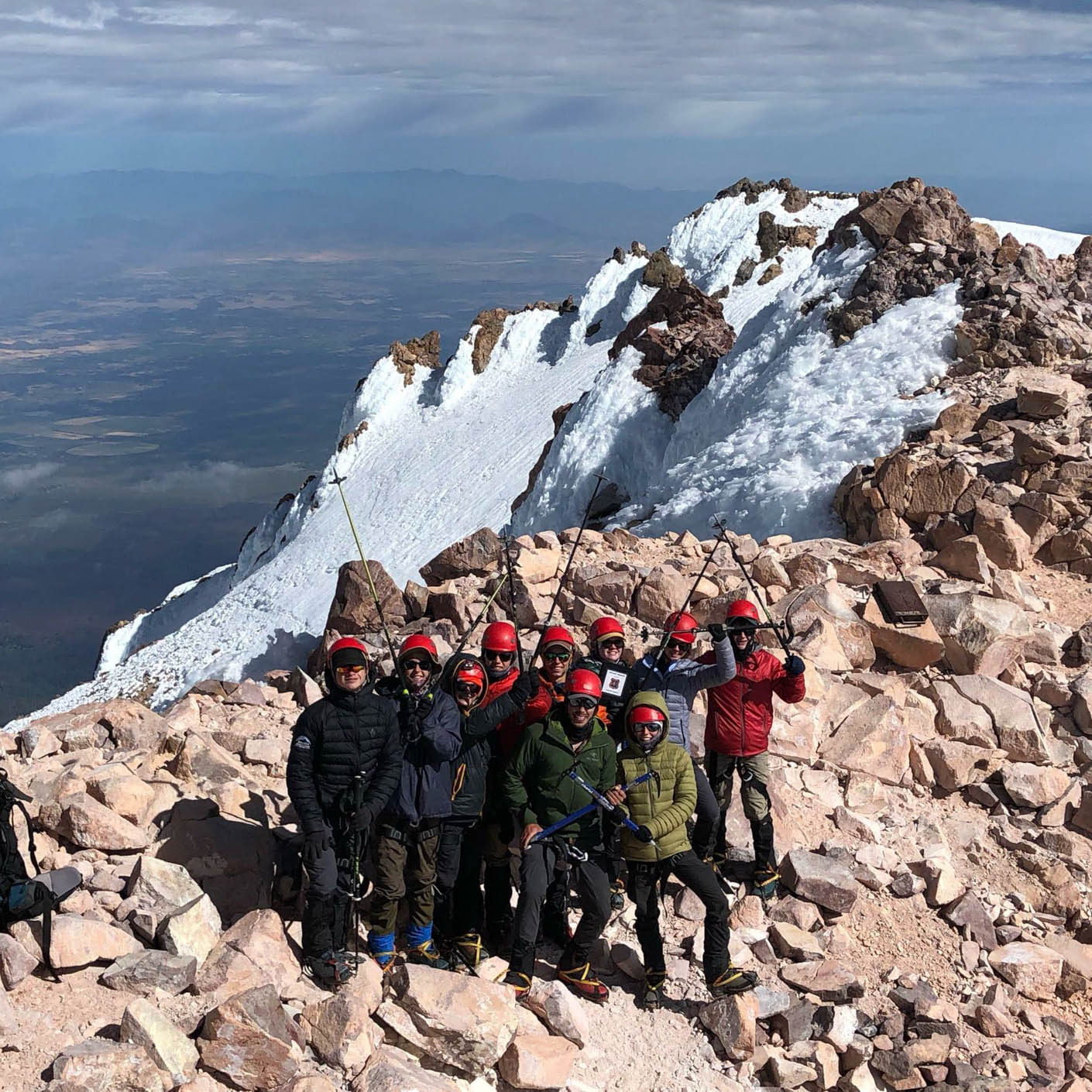 High Sierra mountaineer