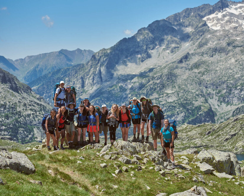 Group photo on the Pyrenees trip