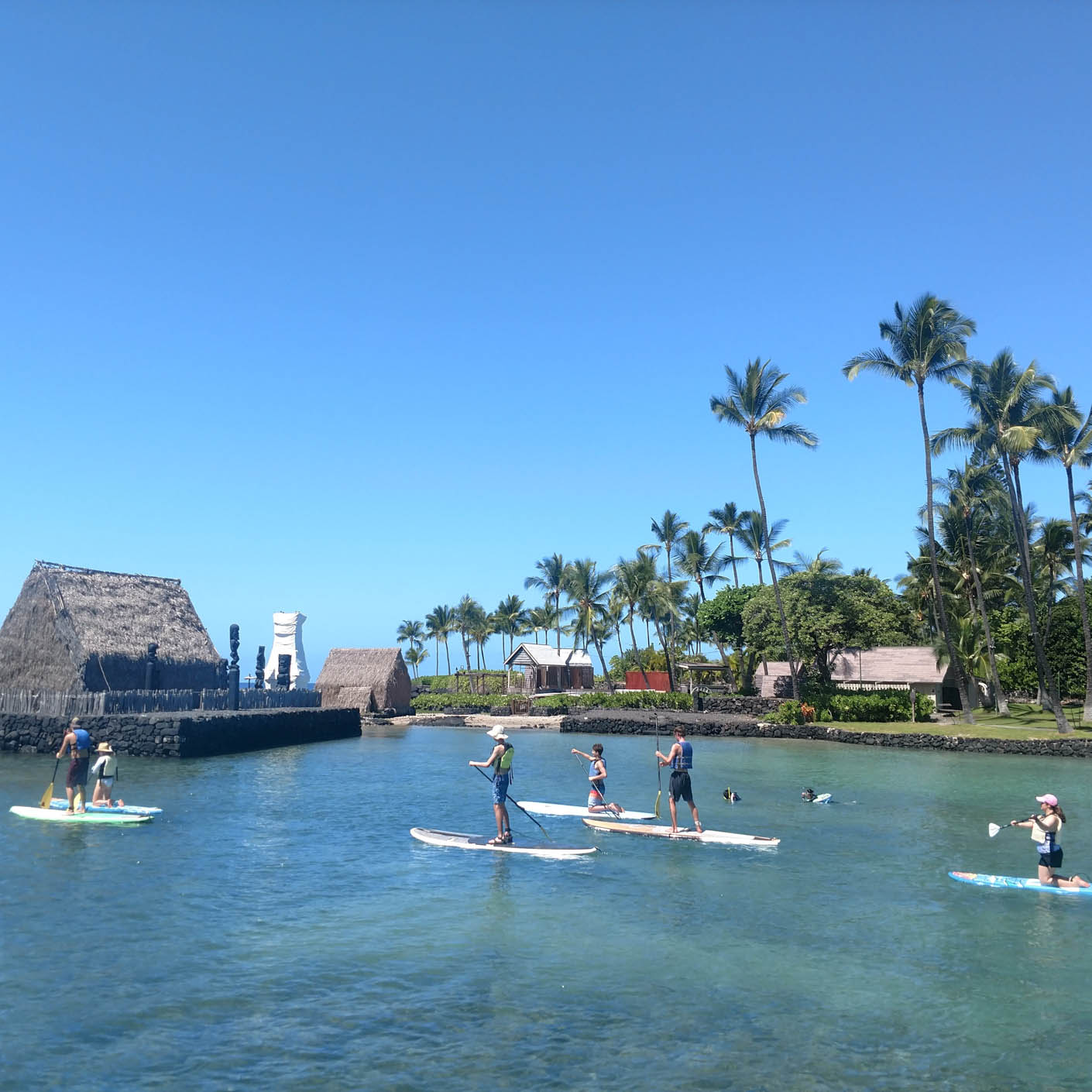 Hawaii Explorer stand up paddle boarding
