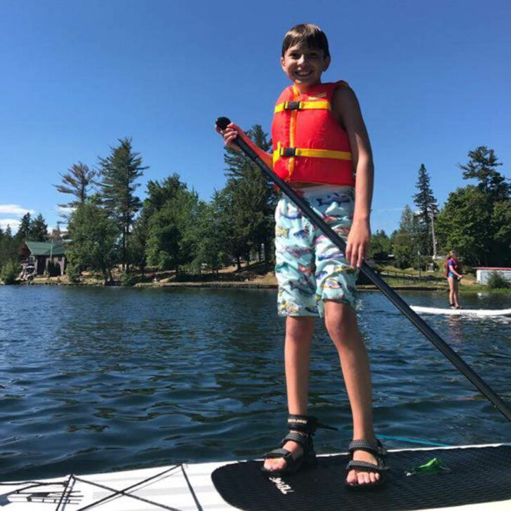 Adirondack Discovery stand up paddle boarding