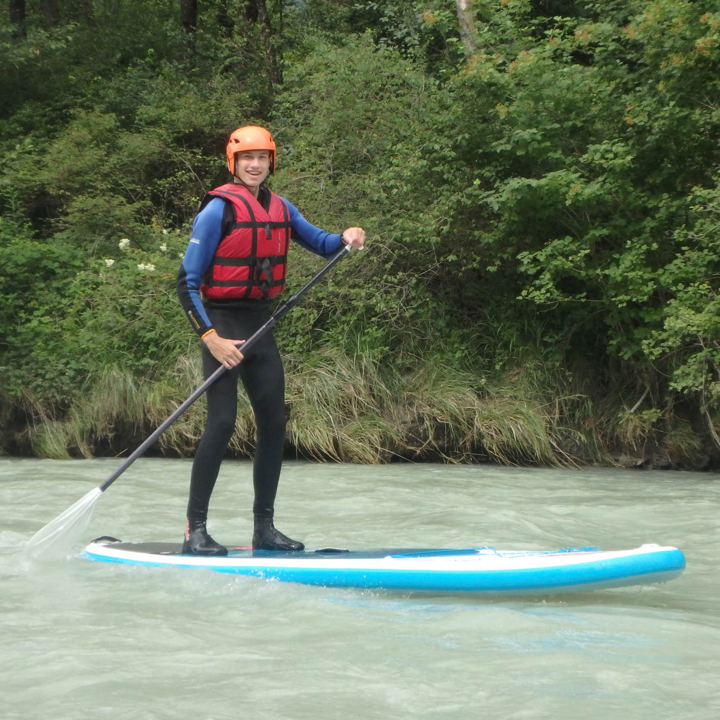 Europe Alps Explorer stand up paddle boarding