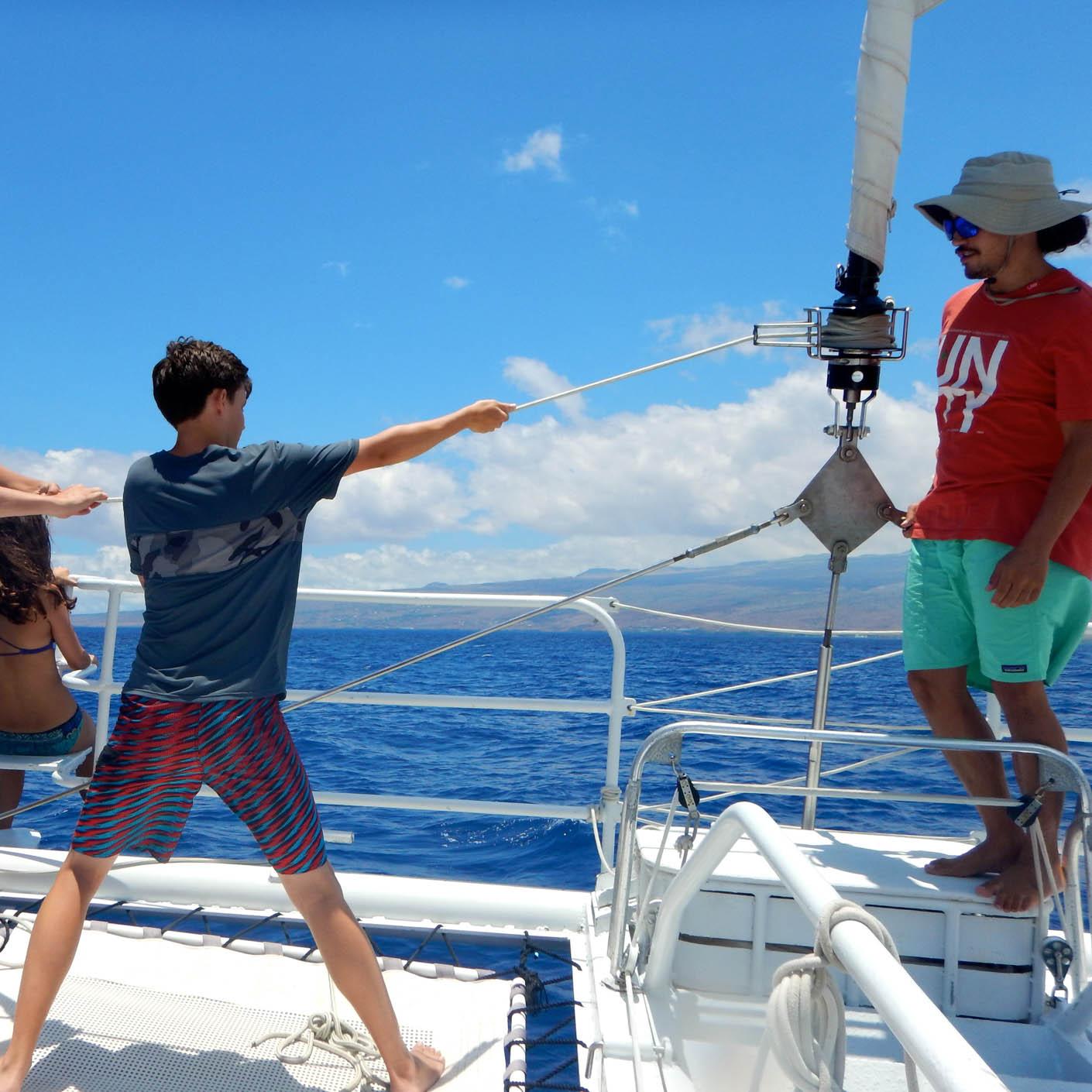 Hawaiian Islands sailing
