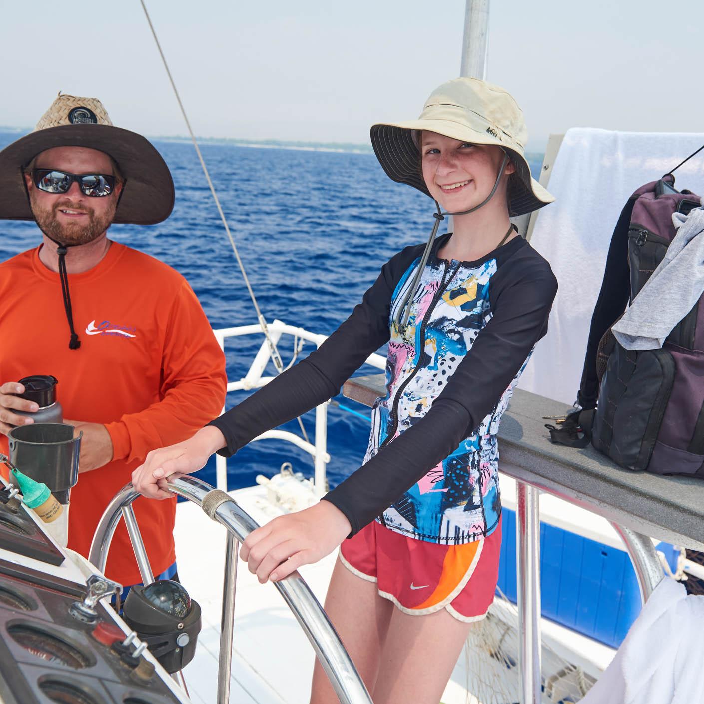 Hawaii Explorer sailing