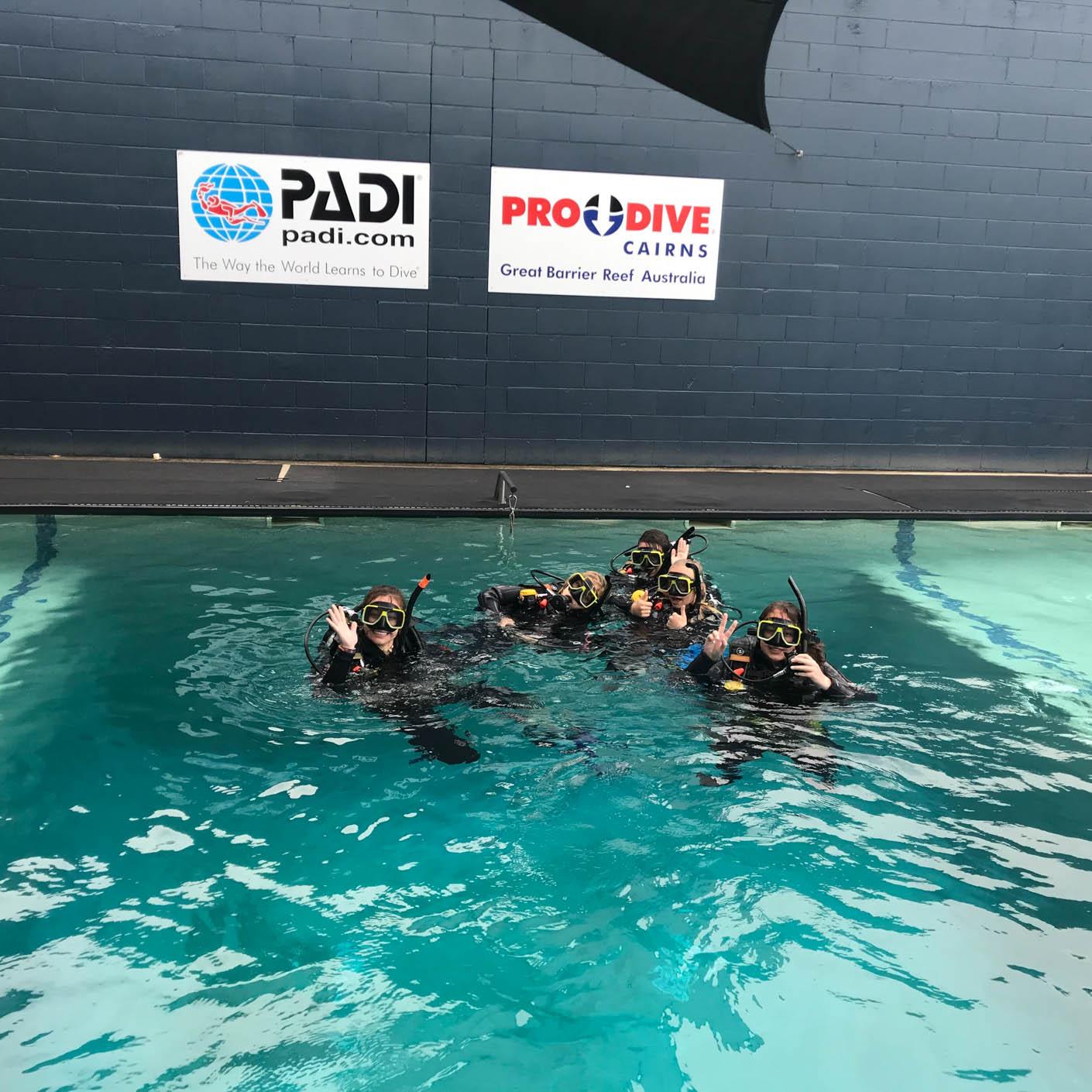 Australia scuba diving