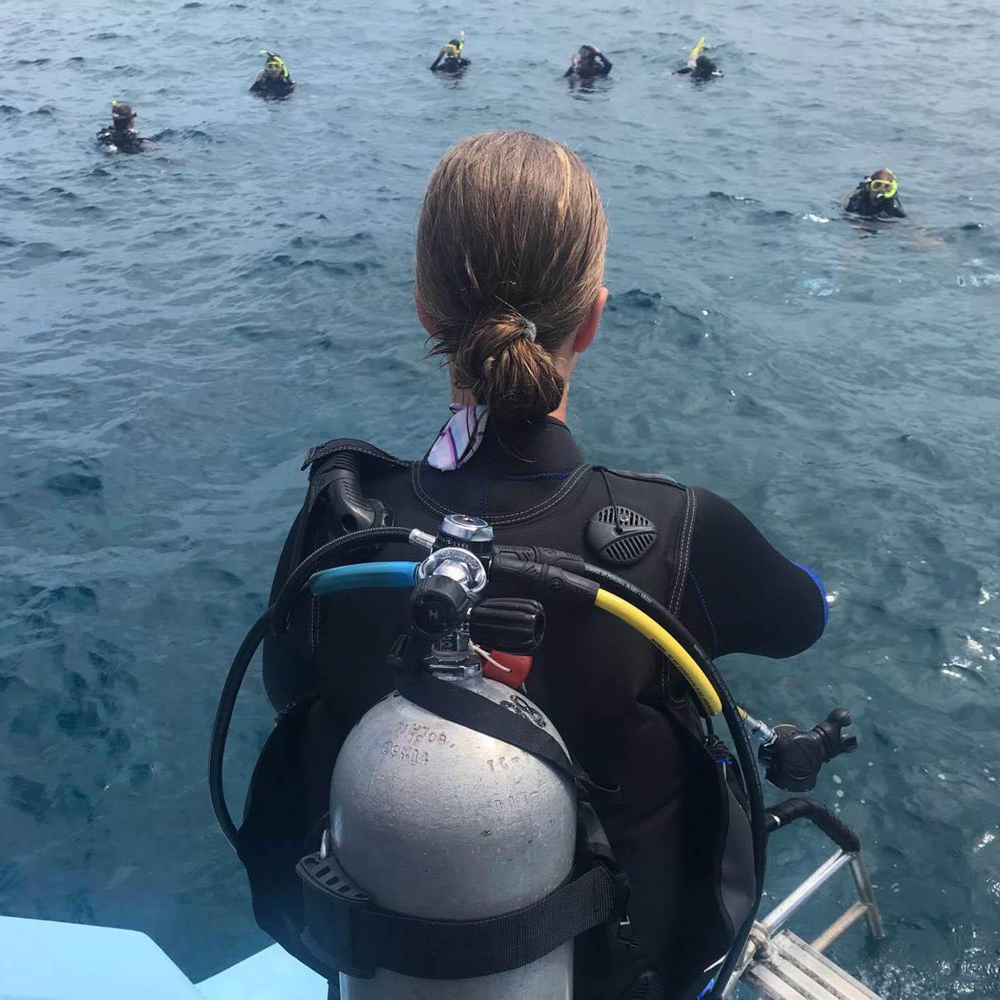 Hawaiian Islands scuba diving