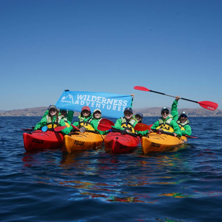 Peru Service kayaking
