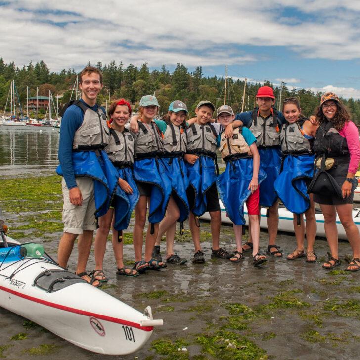 British Columbia sea kayaking