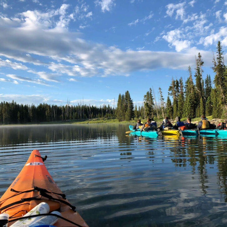 Jackson Hole High Trails sea kayaking